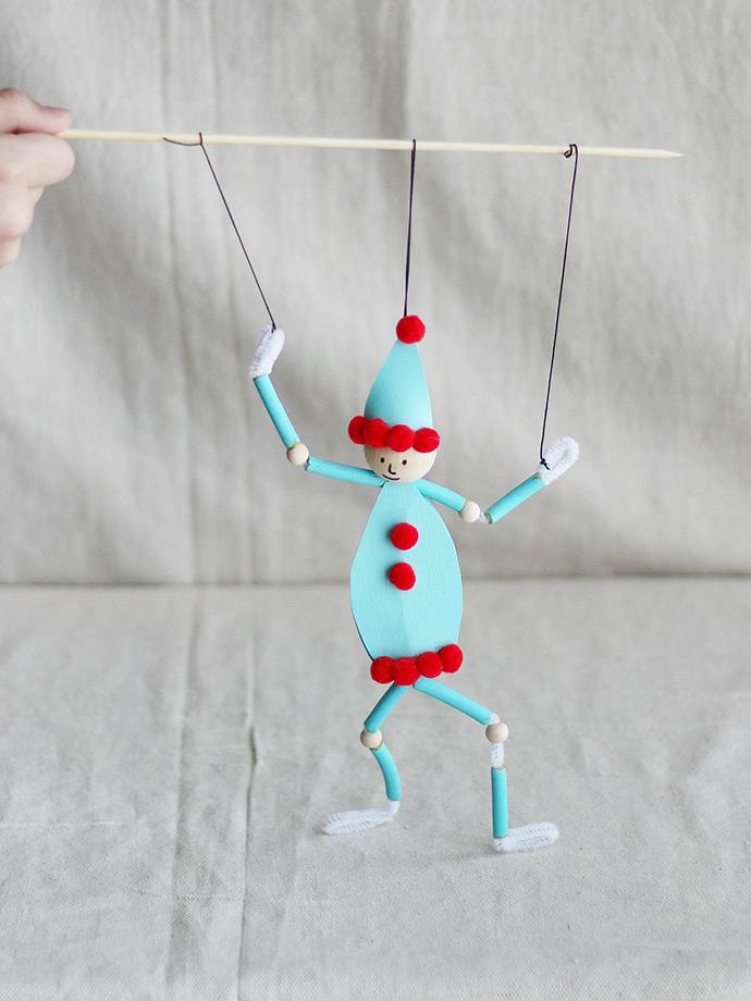 DIY Pasta Puppet Elf  Handmade Charlotte