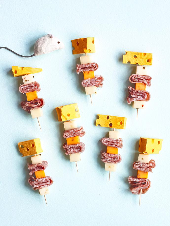 diy cheese skewers handmade