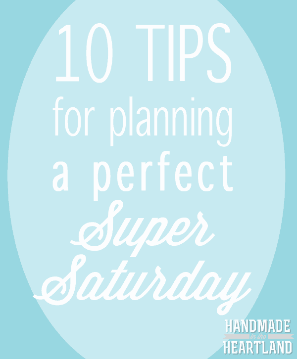 10 tips for planning a Super Saturday Craft Event