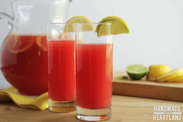 Watermelon Lemon-Limeade