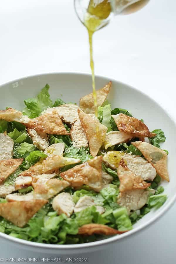 Chicken Wonton Salad