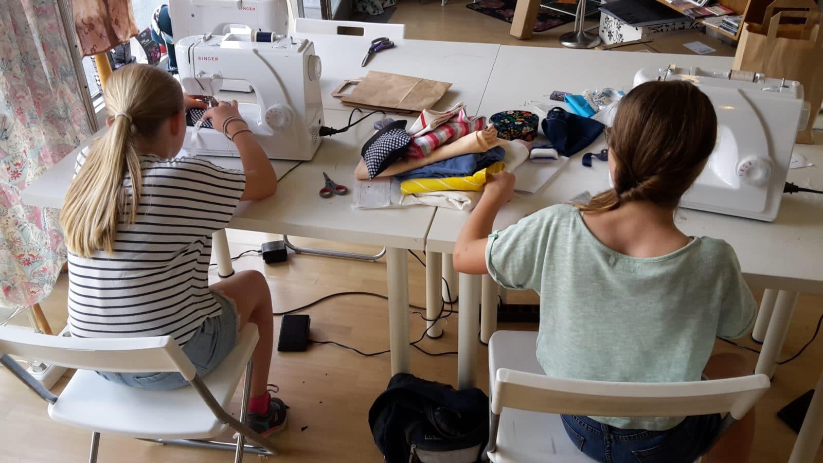 Kurs Nhkurse im Modeatelier Kayami Darmstadt  HANDMADE Kultur
