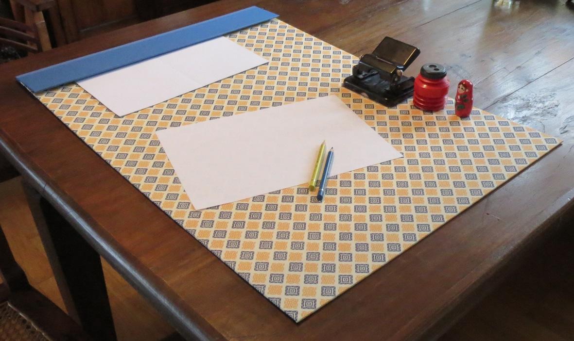 DIY Schreibtischunterlage  HANDMADE Kultur
