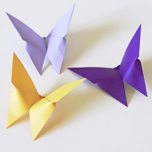 Origami Schmetterlinge  HANDMADE Kultur