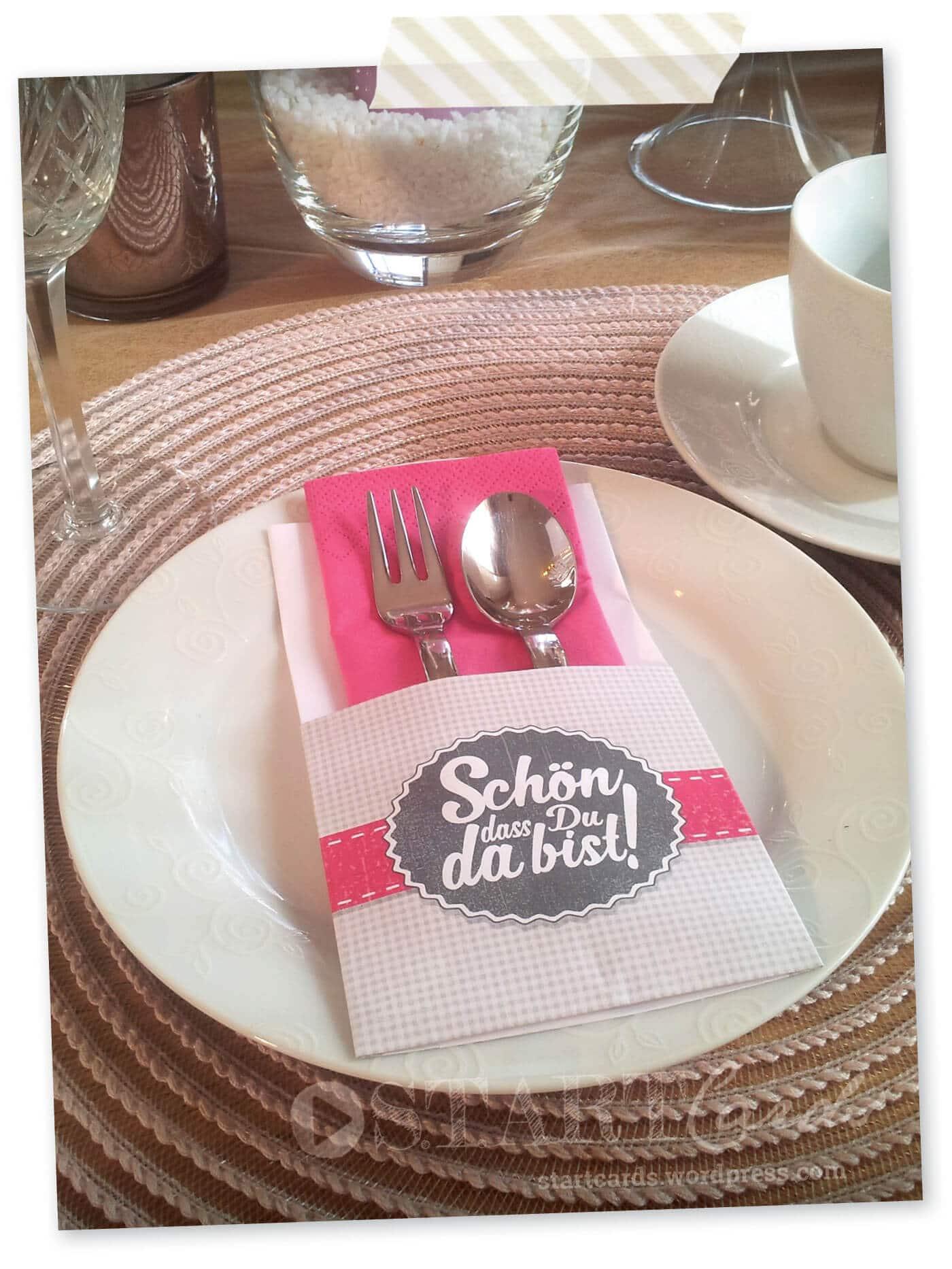 DIY  Bestecktaschen falten  Fr das perfekte Dinner