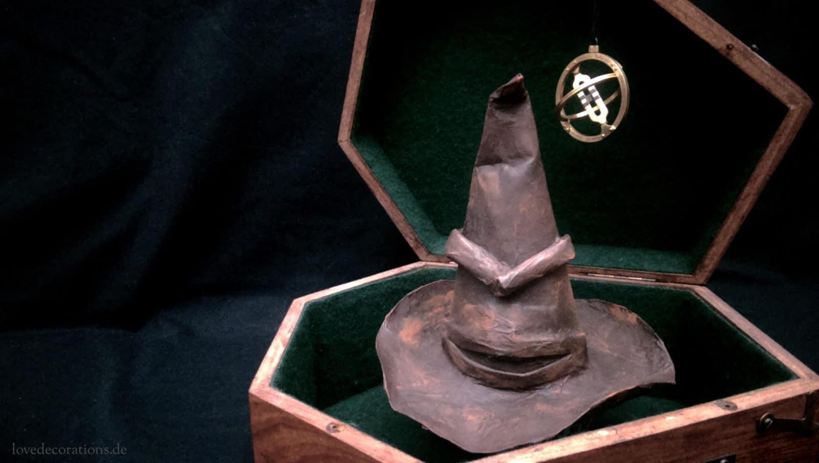 DIY Der Sprechende Hut  Harry Potter  HANDMADE Kultur