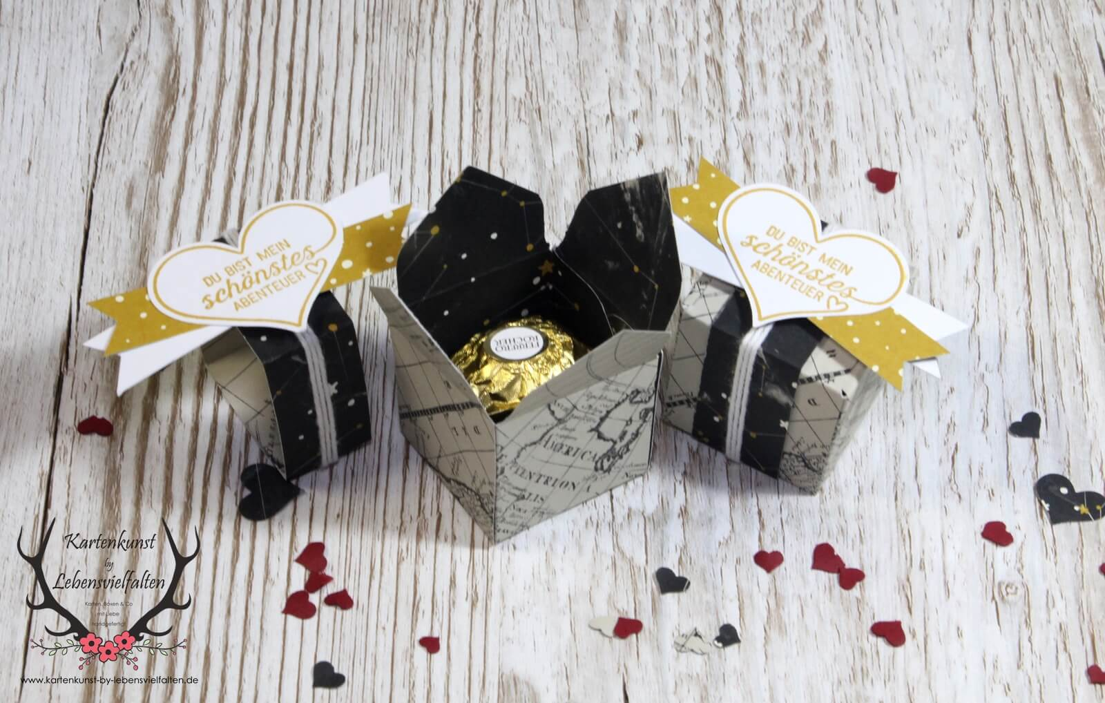 Ferrero Rocher Verpackung zum Valentinstag fr Mnner  HANDMADE Kultur
