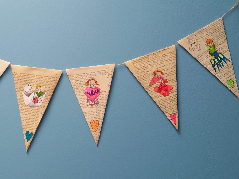 Karten und Girlande zum Muttertag basteln  HANDMADE Kultur
