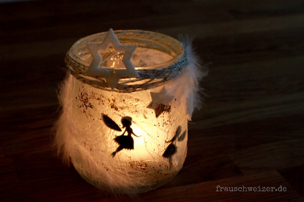 DIY Windlicht Fee im Glas  HANDMADE Kultur