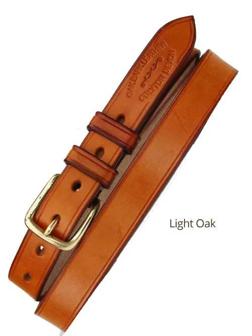 "1"" Bridle Handmade Leather Belt"