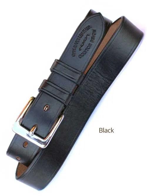 "1¼"" Bridle Handmade leather Belt"