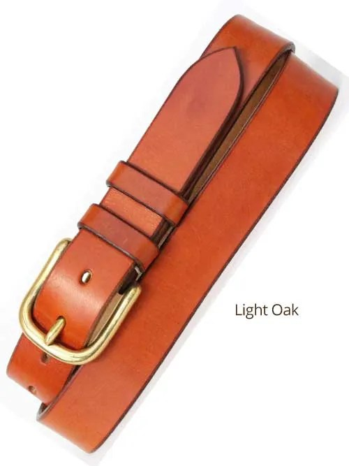"1¼"" Classic Handmade Leather Belt"