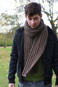 Hot Picks! Men's Handmade Scarves