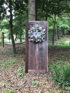 Rustic Door in Woods