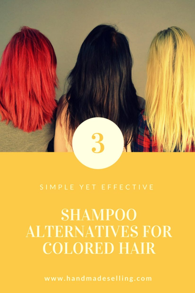 shampoo alternatives for colored hair