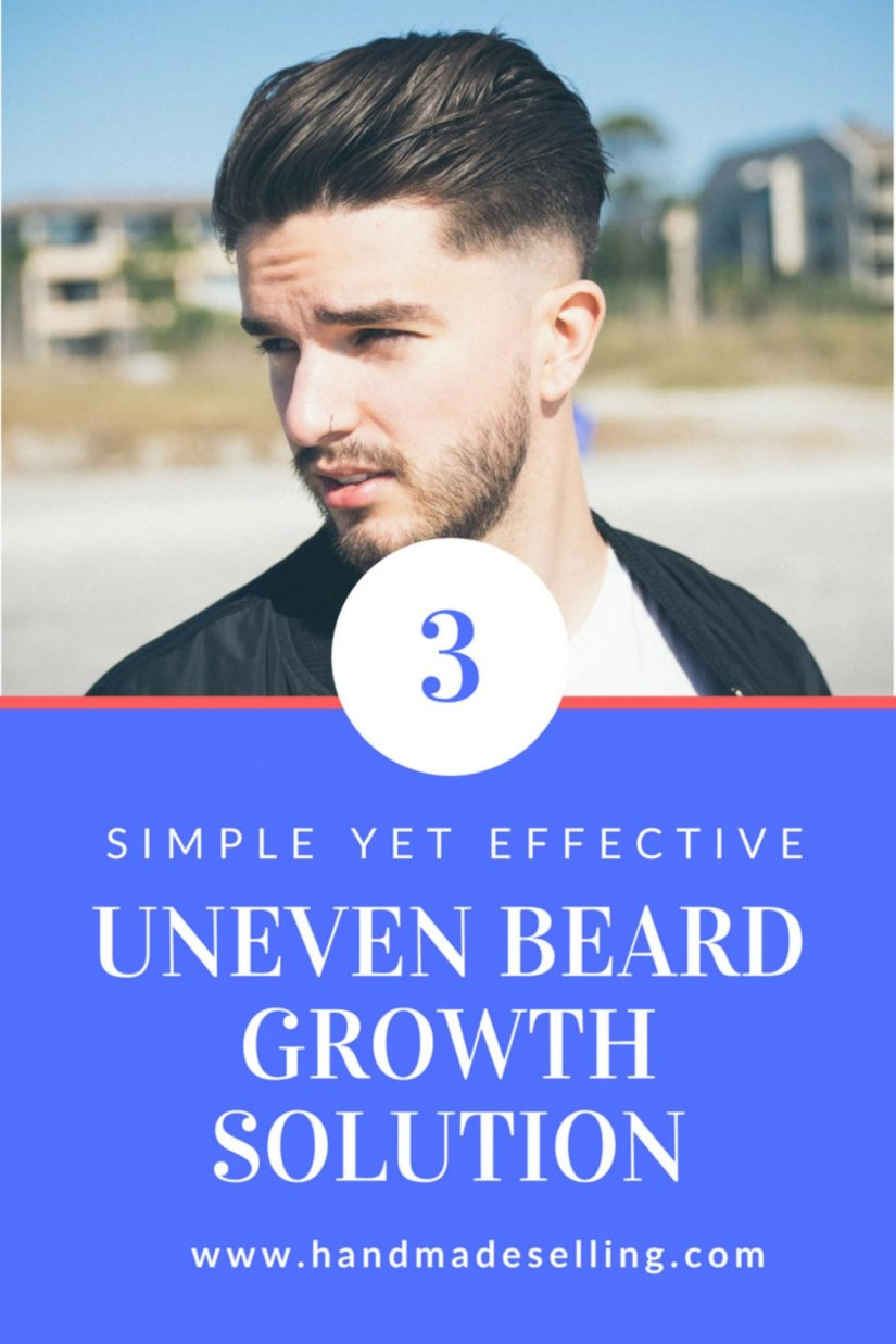 Know How to Have a Remarkable Uneven Beard Growth Solution