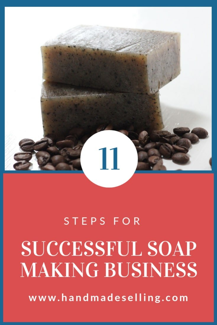 successful soap making business ~ header