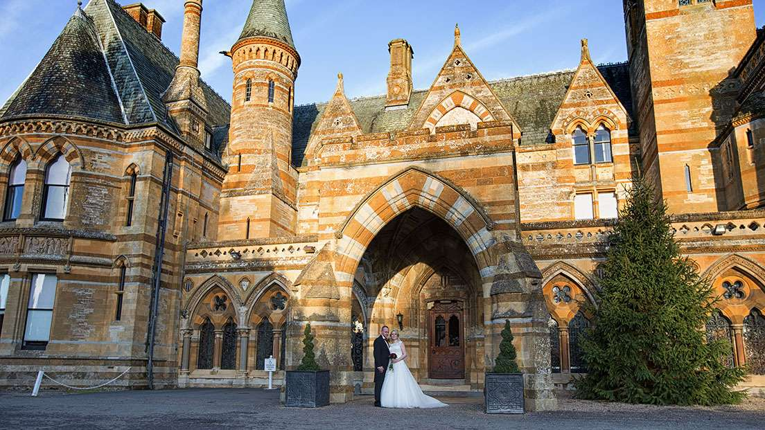 Wedding venue in Warwickshire  Ettington Park Hotel