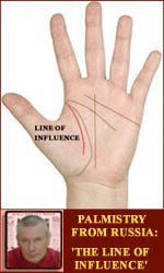 Palmist Abarin Yuriy presents palmistry from Russia.