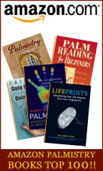 What are the Palmistry book bestsellers?