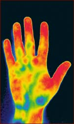 New research about the old saying: cold hands, warm heart.