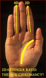 Is the 2D:4D finger ratio the new chiromancy?