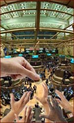 Finger length of London stock traders relates to financial success.