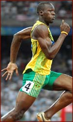 Usain Bolt has the long ring finger, female sprinters from Jamaica as well!