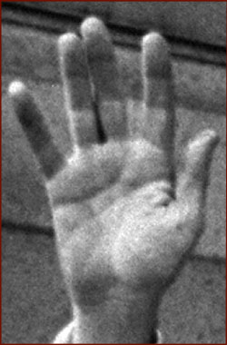 The right hand of the 37th US president: Richard Nixon!