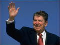 Ronald Reagan - right hand waving photo!