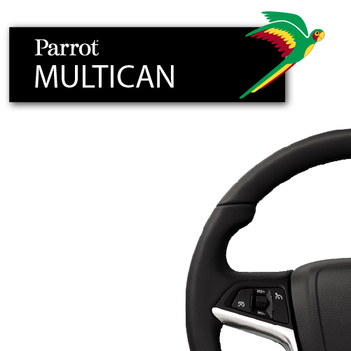 Parrot Multicomm For Chevrolet Steering Wheel