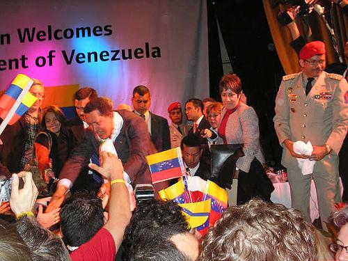 Chávez en Londres