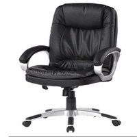 Leather comfortable desk chair LH41