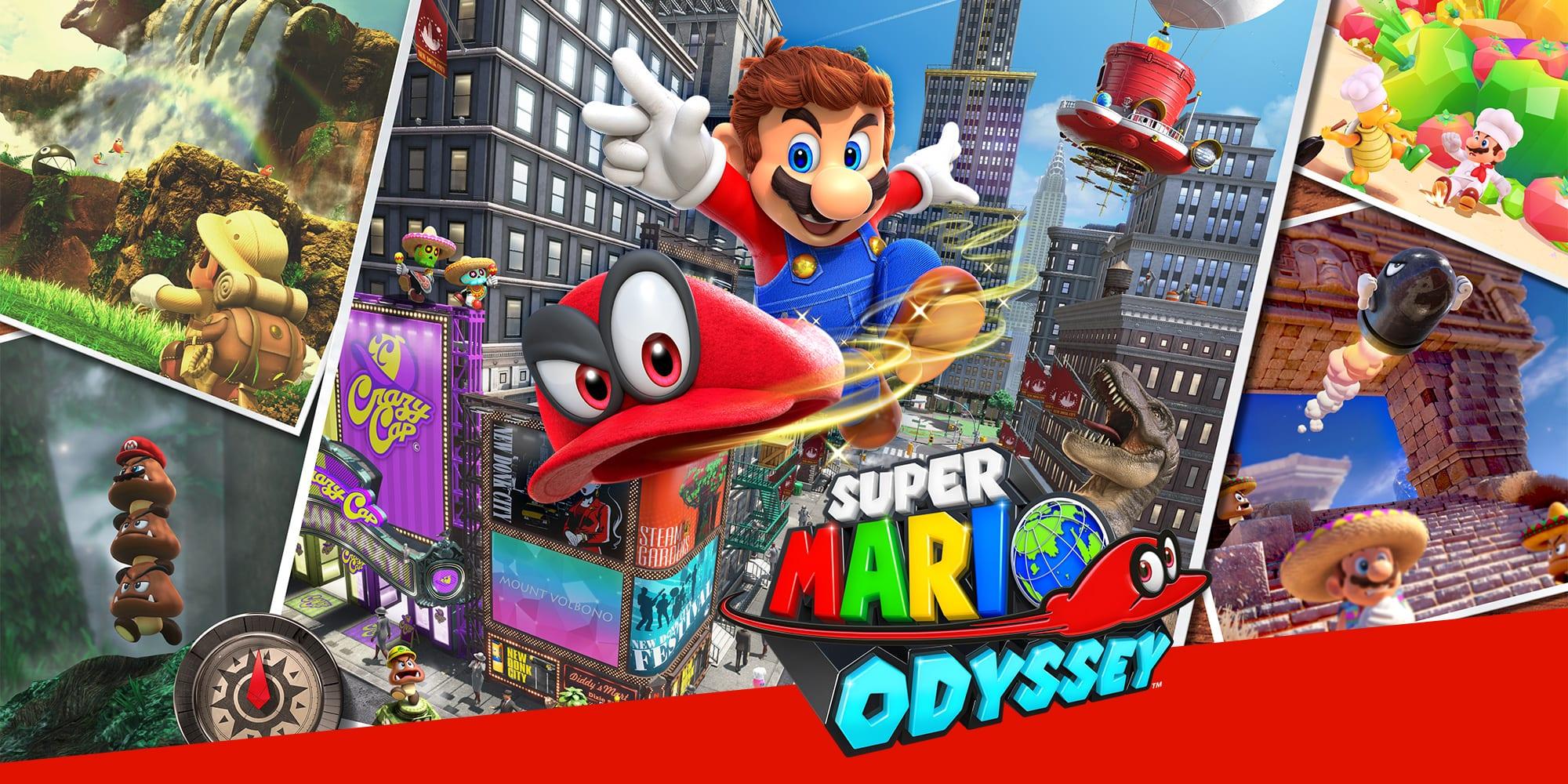 Super Mario Odyssey Review Handsome Phantom