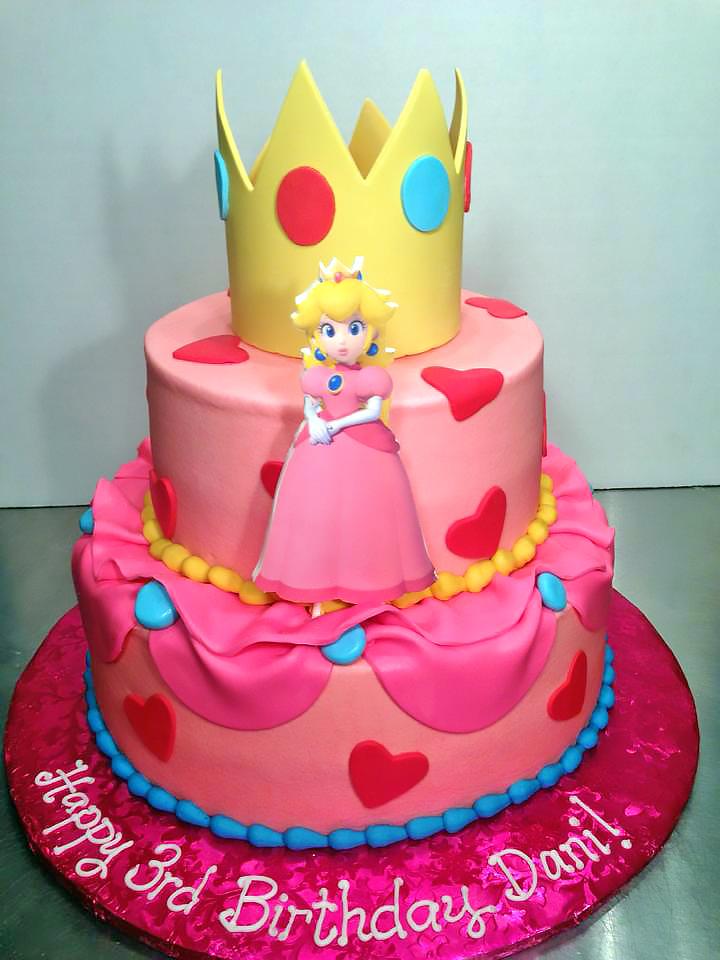 Princess Birthday Cakes Hands On Design Cakes