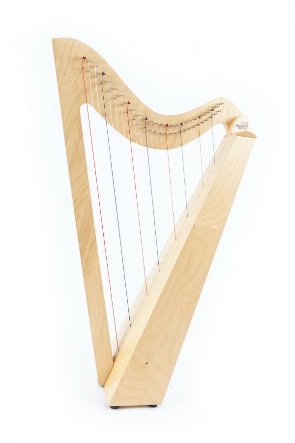our harps hands on