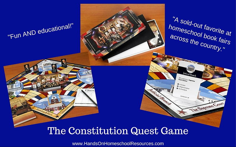 The Constitution Quest Game