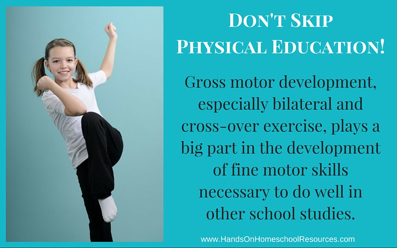 Why PE Should Always be Part of Your Child's School Day