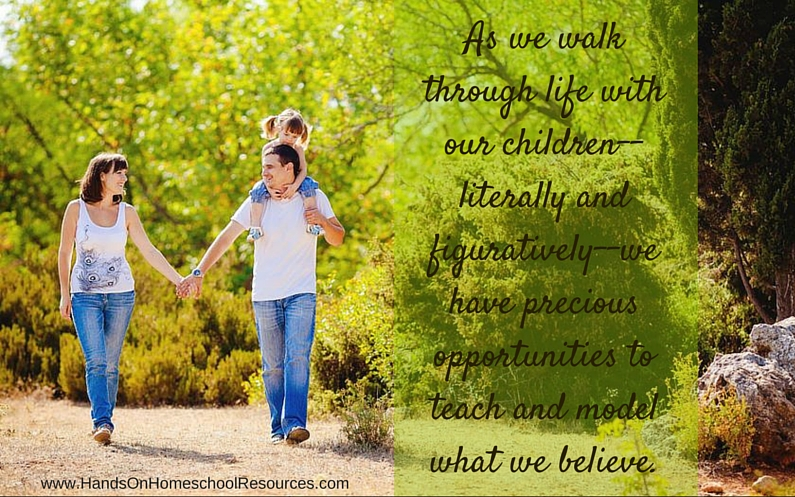 Walking Literally and Figuratively With Our Children