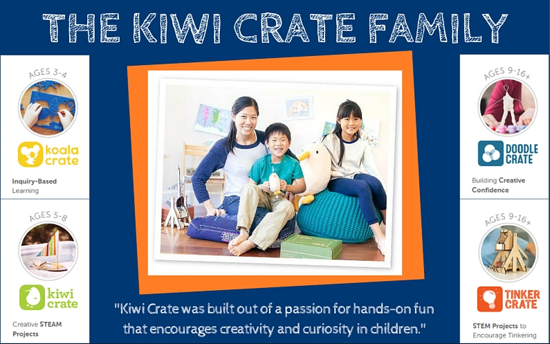 Introducing the Kiwi Crate Family