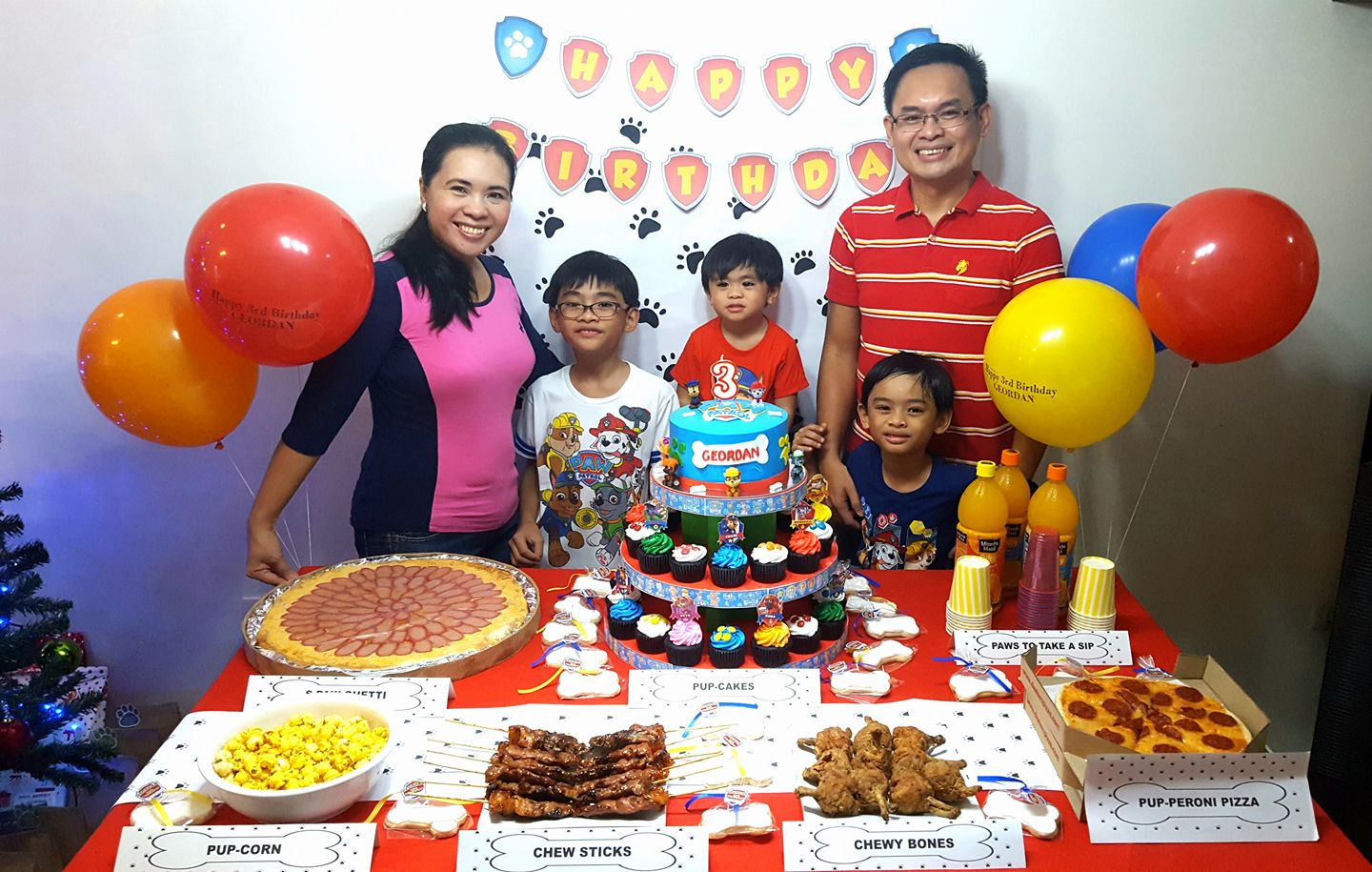 A Simple Paw Patrol Themed Birthday Celebration Hands On Parent