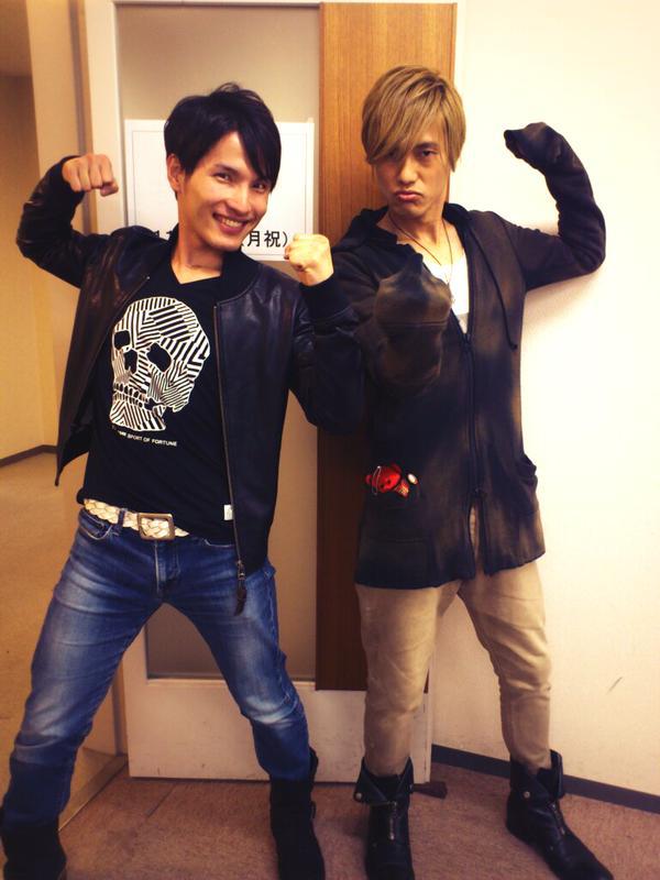 Yuto & Mikoto in 2015 // credits: @yuto_suzuki (twitter)