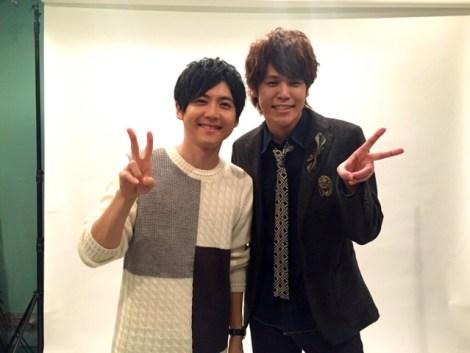 Yuki Kaji and Mamoru Miyano in 2016