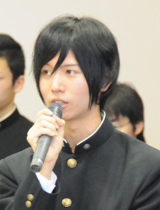 Soma Saito during his highschool years