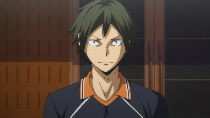 Haikyuu Second Season yamaguchi