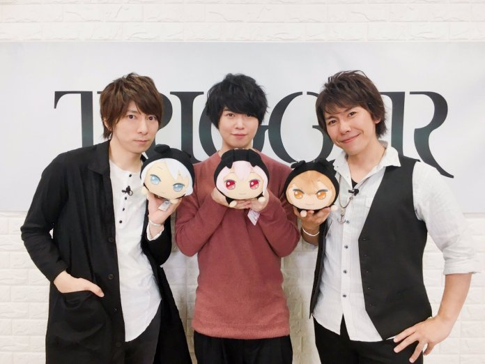 TRIGGER (Wataru Hatano, Soma Saito and Takuya Sato) @ Secret Night event in 2017