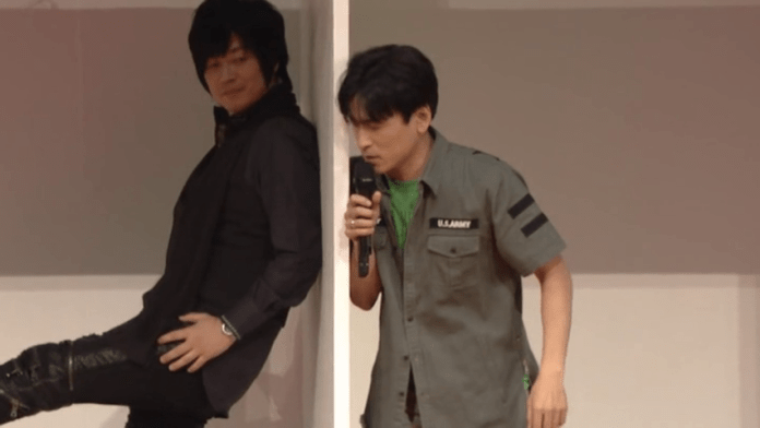 Koji Yusa and Masakazu Morita in Otomate Party 2017