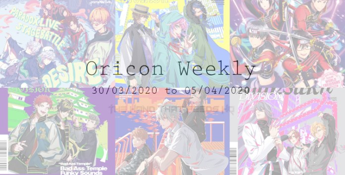oricon weekly 5th week march 2020