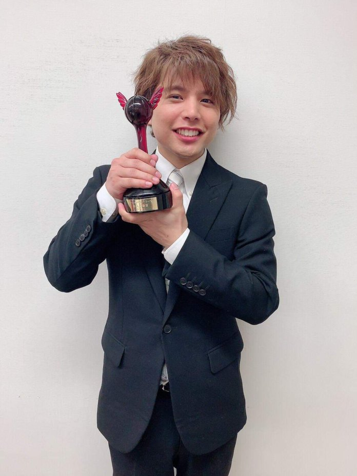 Shugo Nakamura 13th Seiyuu Awards