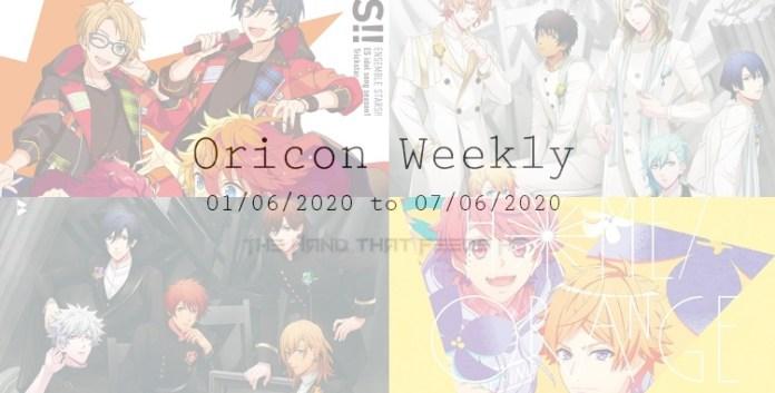 THTFHQ's oricon weekly 1st week June 2020